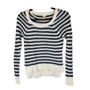 Roxy Cotton Striped Top Size S